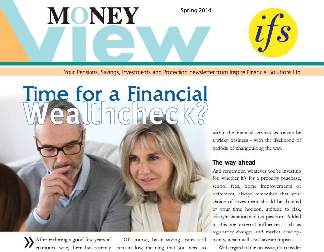 Money View – Spring 2014