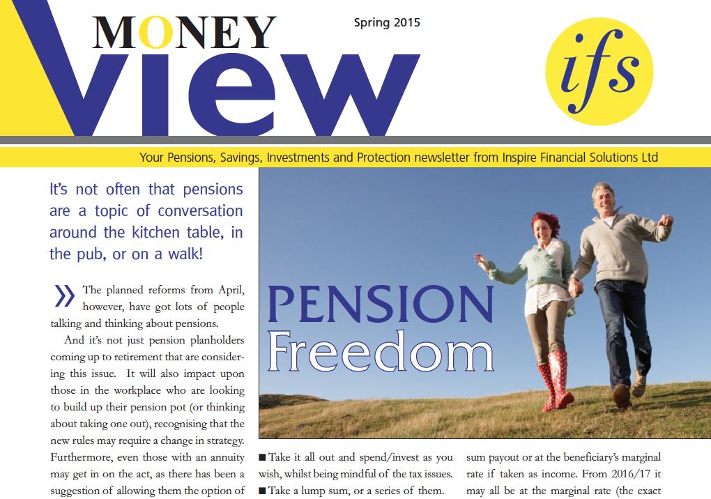 Money View – Spring 2015